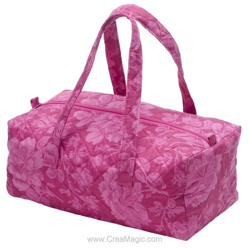 Sac de rangement pour accessoires merveilles fleuries 224 for Sac rangement couture