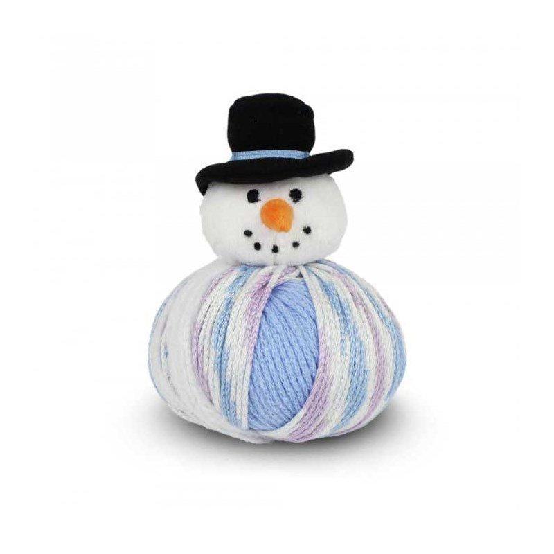 Pelote de laine top this dmc mon bonhomme de neige tty15 sm - Bonhomme de neige en laine ...
