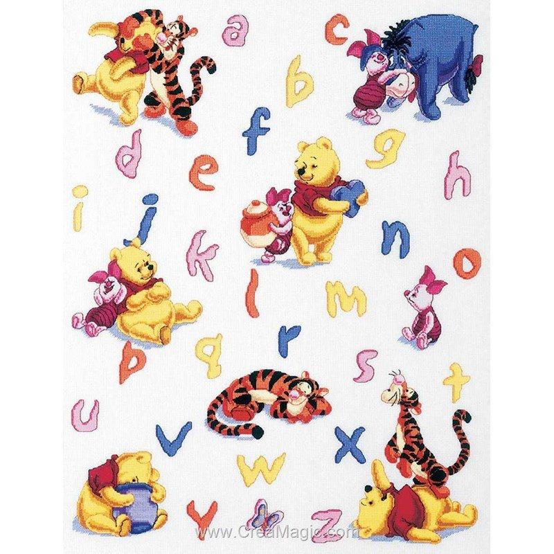 Alphabet winnie de disney de Royal Paris 6443-0011