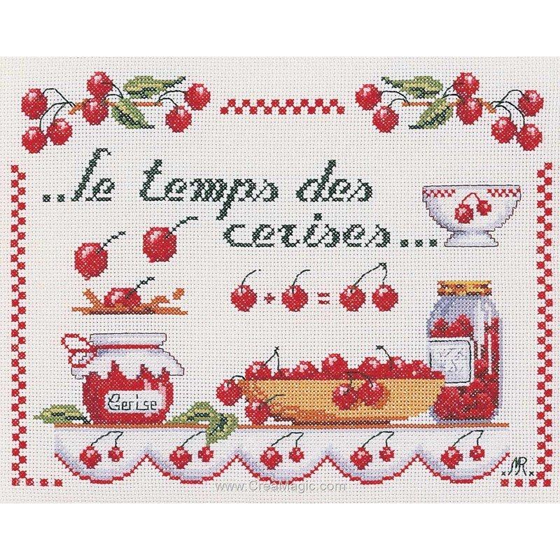 Le temps des cerises jm 1979 4262 de marie coeur - Point de croix cuisine ...