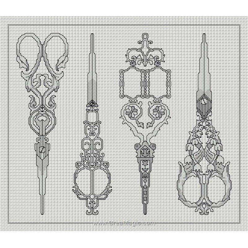 kit broder les ciseaux de couturi re a868 d 39 anagram. Black Bedroom Furniture Sets. Home Design Ideas