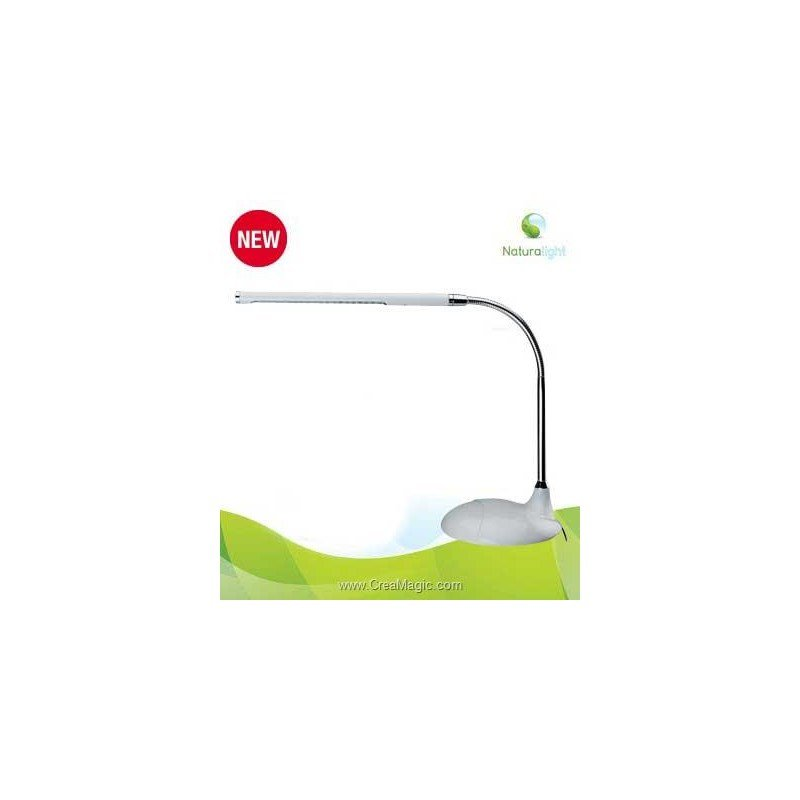 lampe led flaxible de bureau en1120 naturalight. Black Bedroom Furniture Sets. Home Design Ideas