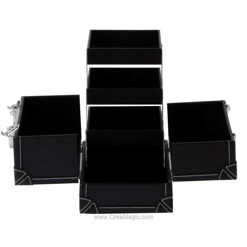 Boite couture noir aspect cuir 612 820 prym for Boite couture prym