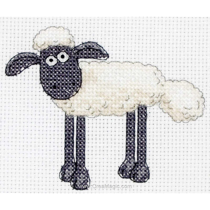 broderie shaun the sheep mini ss00102 d 39 anchor. Black Bedroom Furniture Sets. Home Design Ideas