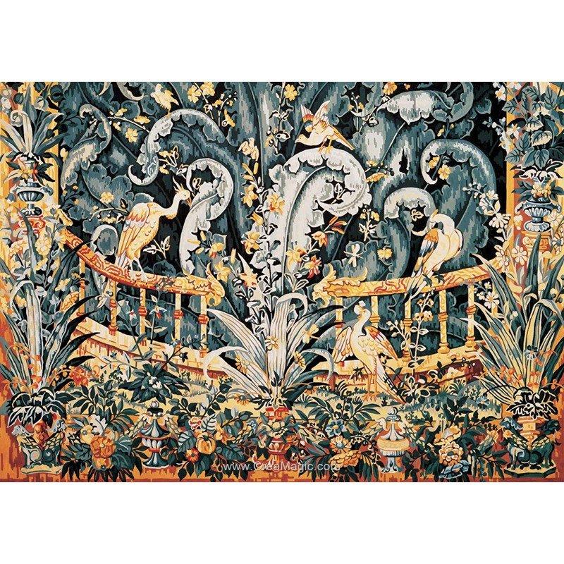 Tapisserie du ch teau d 39 angers canevas de royal paris - Cours de tapisserie d ameublement paris ...