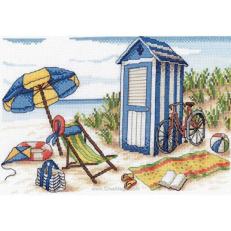 cabine de plage et transat 6437 0034 chez royal paris. Black Bedroom Furniture Sets. Home Design Ideas