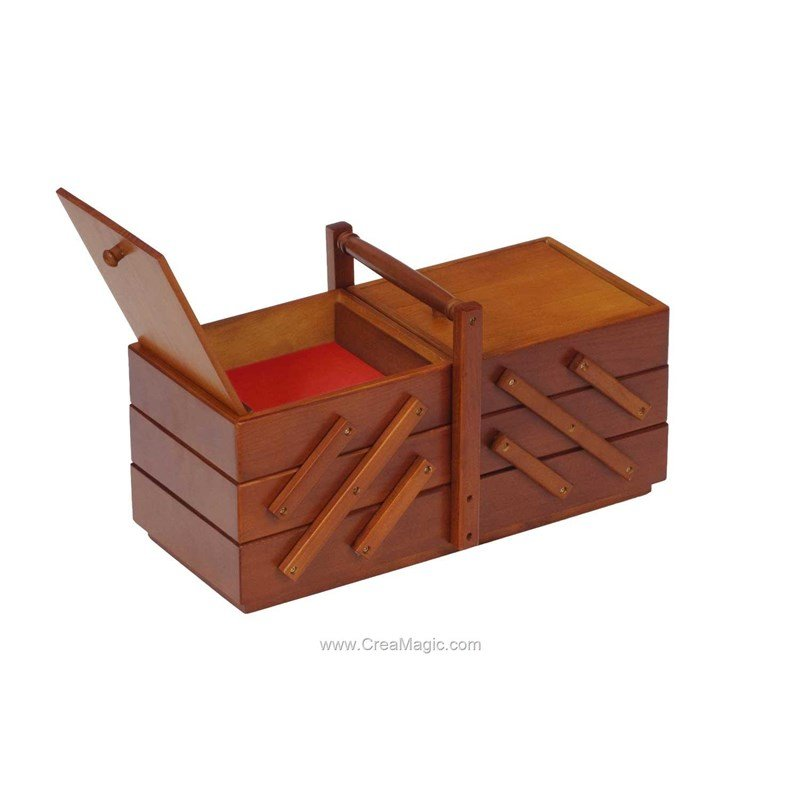 Travailleuse en bois clair 224 1103 milward for Travailleuse a couture en bois