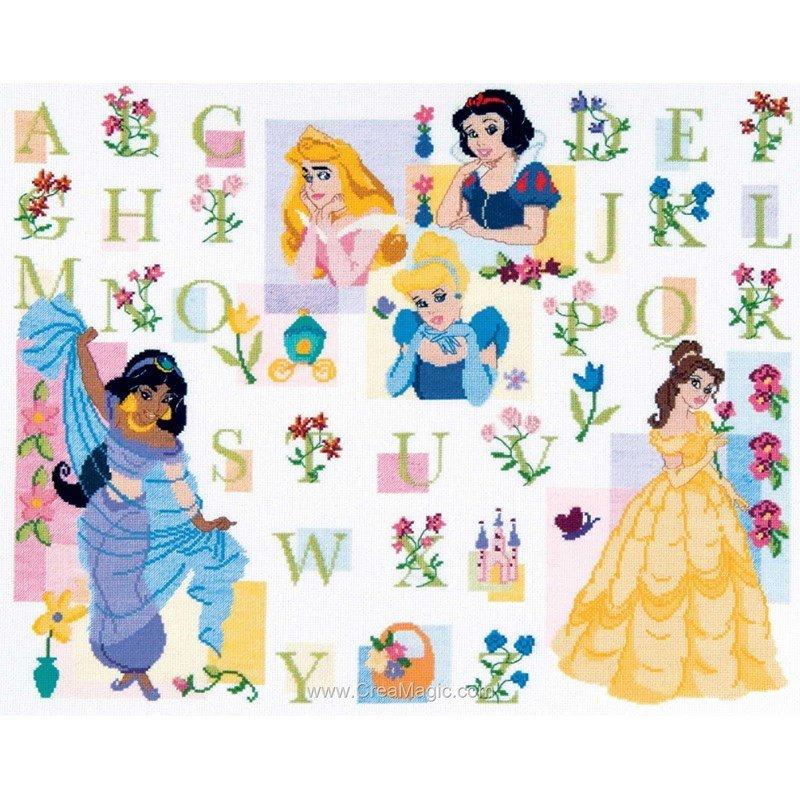 Ab c daire des princesses 6443 0018 de royal paris - Princesse de walt disney ...
