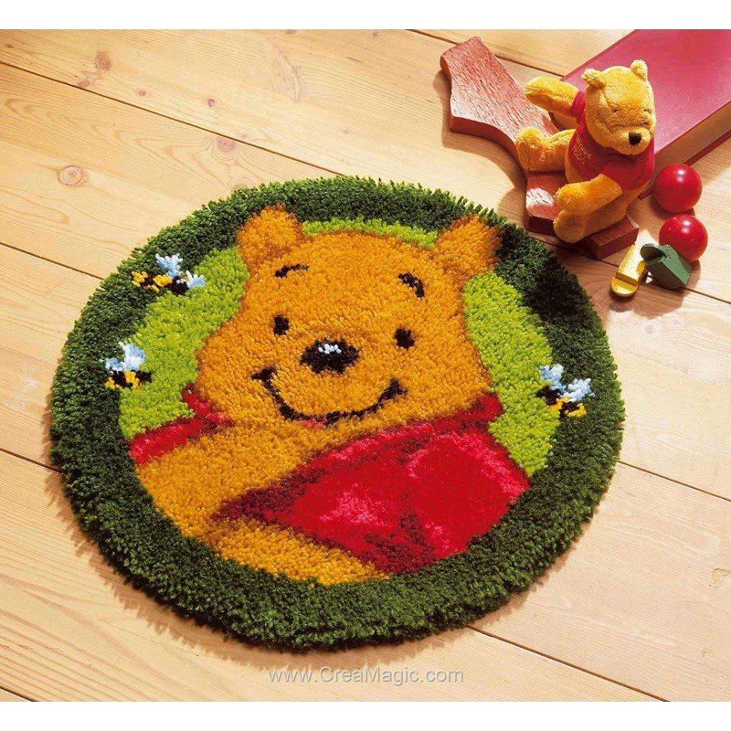 Vervaco Kit Tapis Point Nou Disney Winnie L 39 Ourson