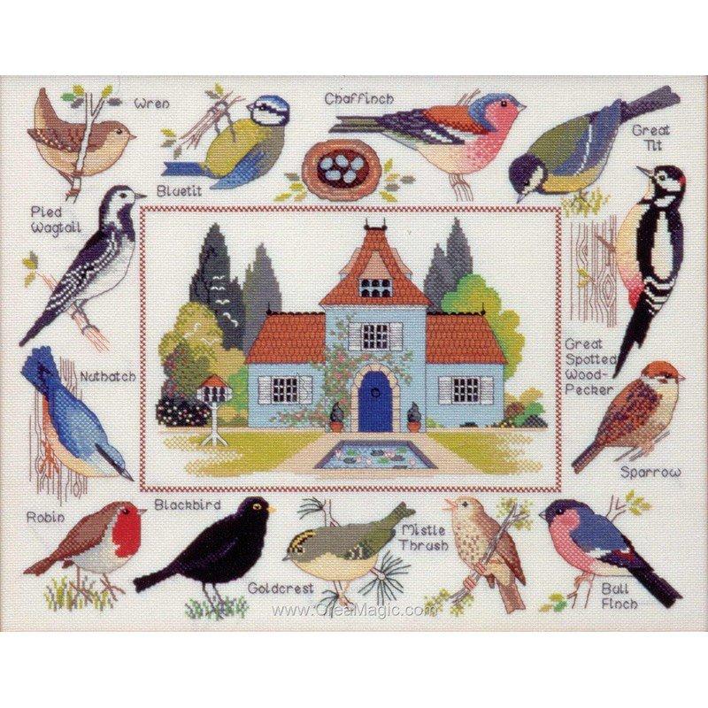 kit broder la maison des oiseaux cc83996 anchor. Black Bedroom Furniture Sets. Home Design Ideas