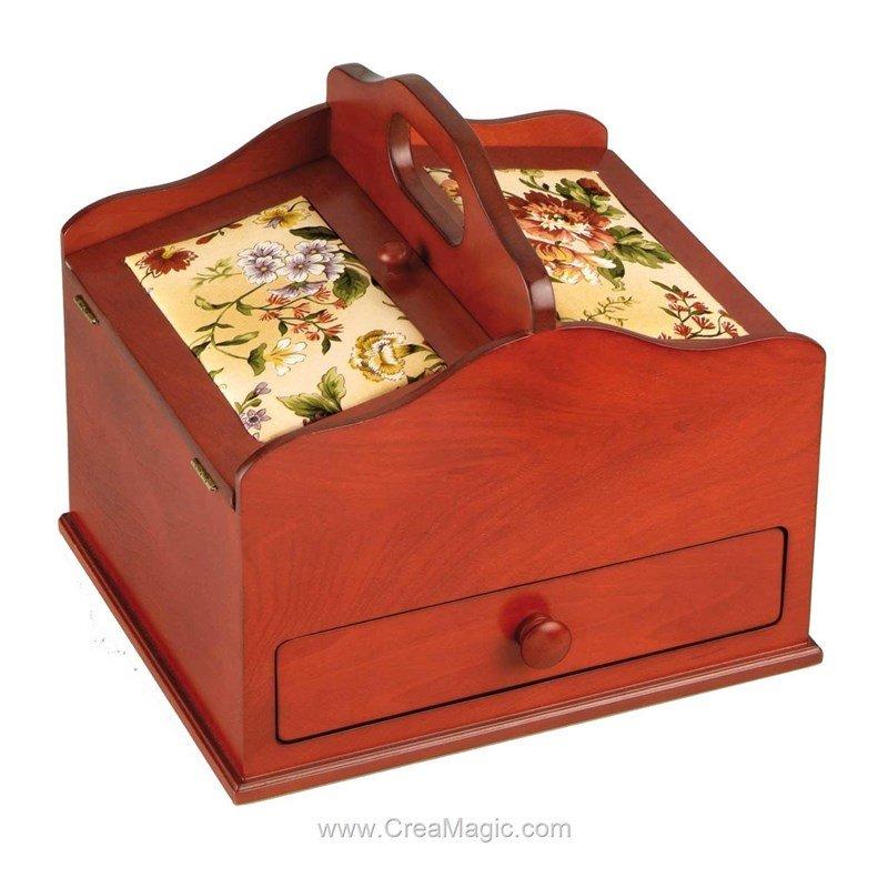Boite couture couleur cerisier 612 516 chez prym for Boite a couture prym
