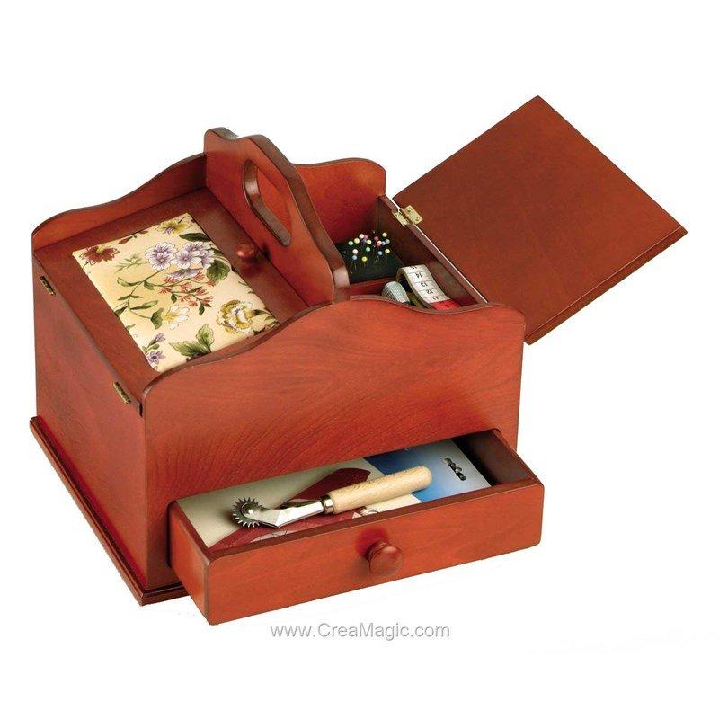 Boite couture couleur cerisier 612 516 chez prym for Boite couture prym
