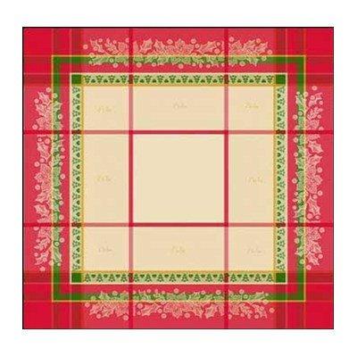 Nappe multicolore - Spécial Noël à broder au point de croix - DMC