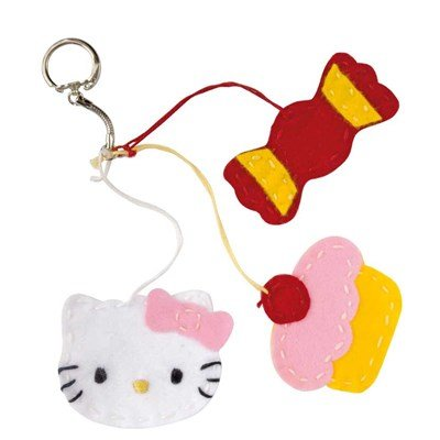 KIT Junior HELLO KITTY - Porte-clés - DMC