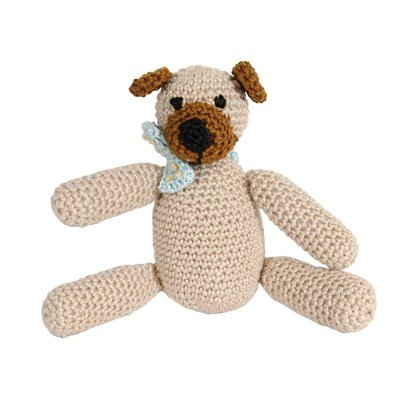 Doudou ourson crochet - DMC