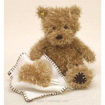 Peluche ourson Baby à tricoter - Popcorn