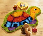 Tapis point noué La tortue - Vervaco