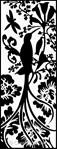 Canevas L'oiseau baroque - Margot