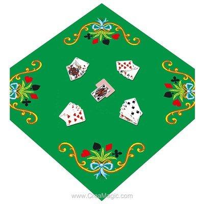 Tapis de Jeux de cartes - Luc Création