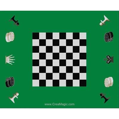 Tapis de jeux échec - Luc Création