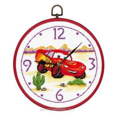 Horloge Cars - Vervaco