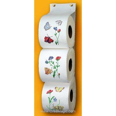 Range Papier Toilette aux 6 papillons - Planète Mauve