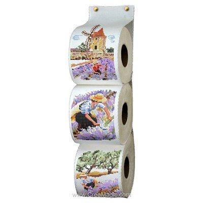 Range Papier Toilette Les Lavandes - Luc Création