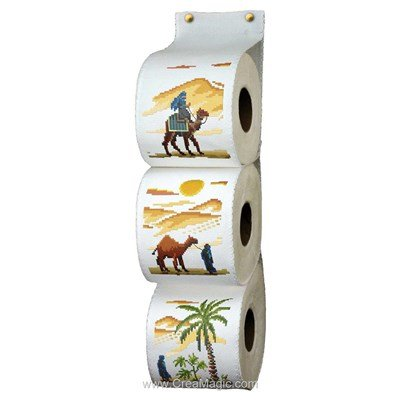 Range Papier Toilette Sahara - Luc Création
