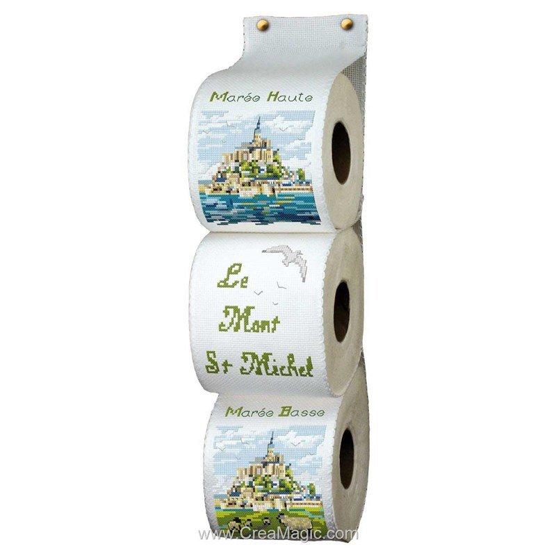 Range papier toilette le mont st michel rpt 104 for Range papier toilette