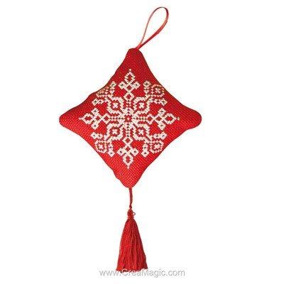 Coussin décoratif de noël - Vervaco