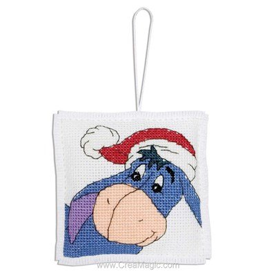 Eeyore With Christmas Hat - Anchor