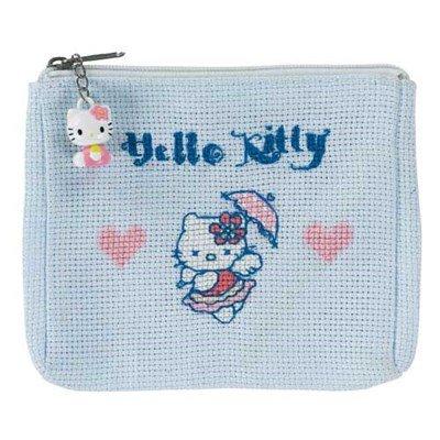 Porte-monnaie Kitty coeur - DMC