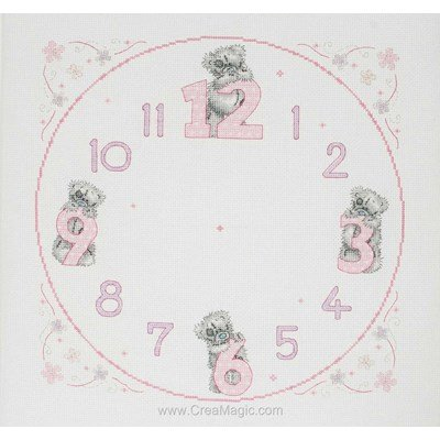 Tatty Teddy Clock - Anchor
