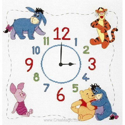 Winniethe Pooh Clock - Anchor