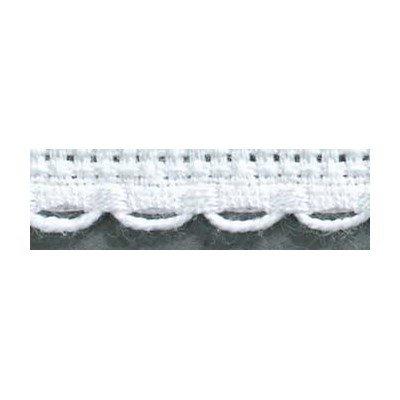Galons Aïda 6 festonné blanc - d8 cm - DMC