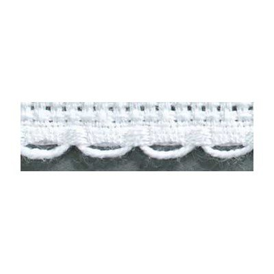 Galons Aïda 6 festonné blanc 8 cm - DMC