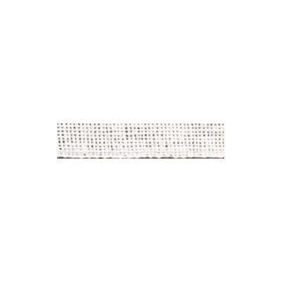 Galons en lin 12 fils 5 cm blanc - DMC
